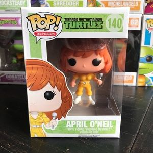 Funko Ninja Turtles April O'Neil Vaulted POP